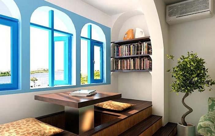 сини прозорци