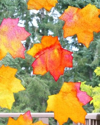 декорация-за-прозорец-есенни-листа