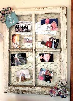 стар прозорец - нова рамка за снимки
