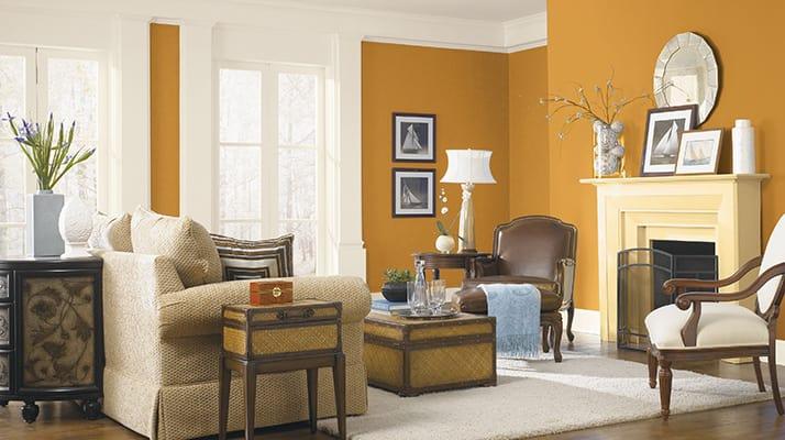 Цветът на стените, дограмата, мебелите има значение