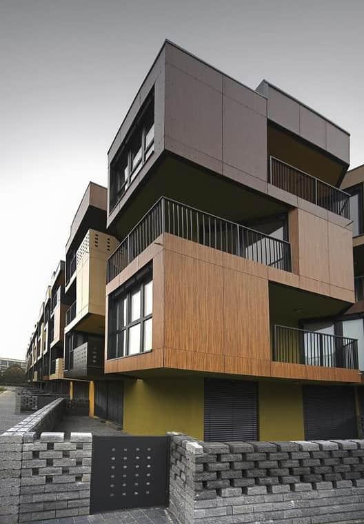 фасада композитни панели