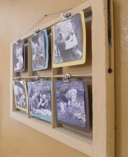 рамка за снимки от стара дограма