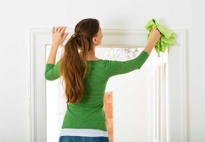 как да почистим вратите