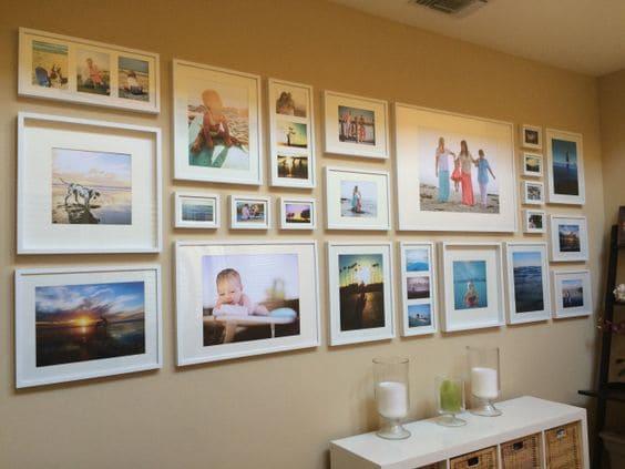 декорация за стена със снимки