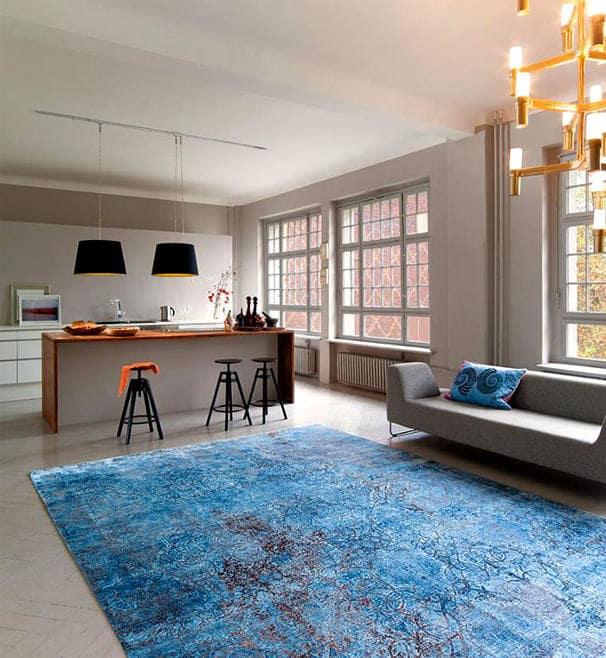 килим като изкуство в хола