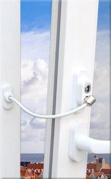 безопасен прозорец за детска стая
