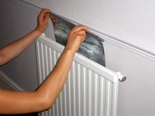 топлинно отразяващо алуминиево фолио зад радиатора
